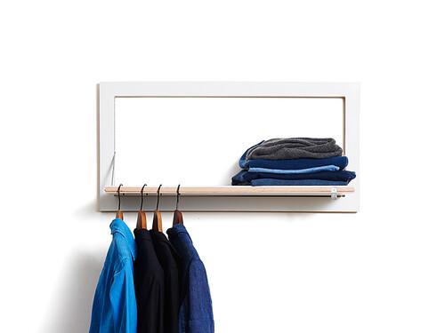 Garderobe Fläpps Kleiderstange