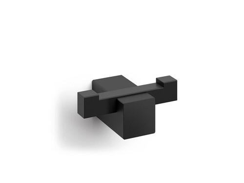 Handtuchhaken Carvo Doppel-Handtuchhaken | schwarz