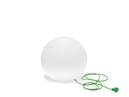 Leuchte Happy Apple Ø 50 cm | Polyethylen weiß
