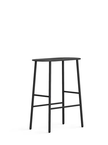 Hocker Bukto Höhe 45 cm | schwarz