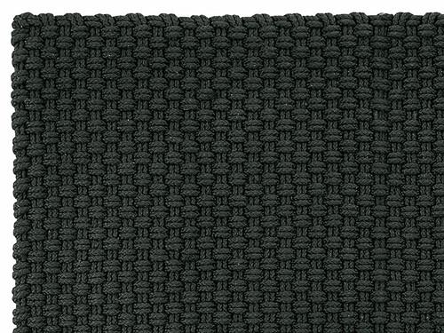 In- und Outdoormatte Uni B 170 x L 240 cm | schwarz