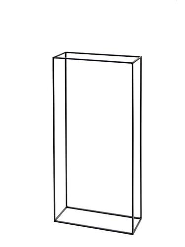 Holzständer Kwadrat H 120 x B 60 x T 25 cm | Stahl, natur
