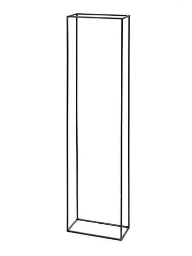 Holzständer Kwadrat H 150 x B 40 x T 20 cm | Stahl, natur