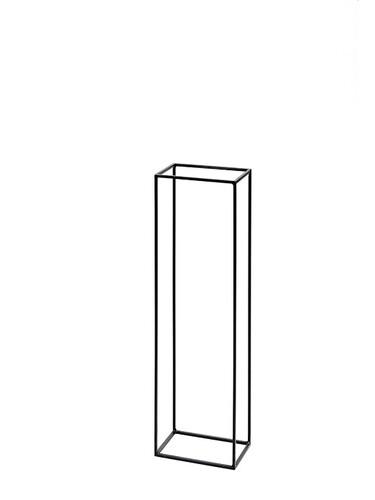 Holzständer Kwadrat H 100 x B 30 x T 20 cm | Stahl, natur