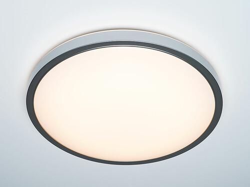 LED-Deckenleuchte Diss H 11 cm, Ø 51 cm   silberfarben