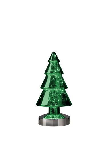 LED-Dekoleuchte Winterlight Baum H 26 cm | grün