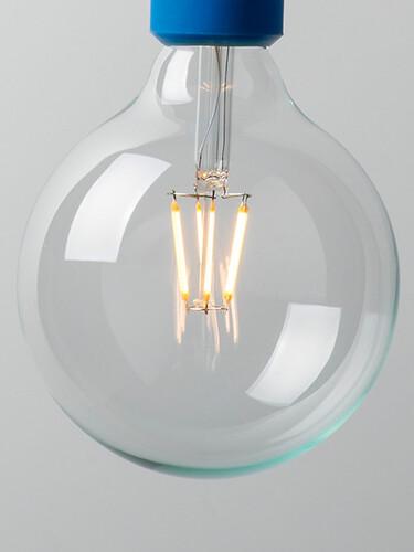 LED-Globelampe 6 Watt