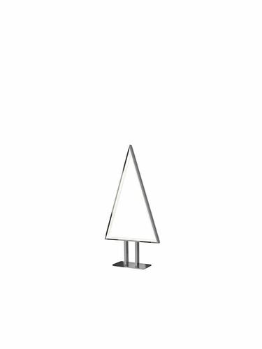 LED-Leuchte Pine 50 cm | silberfarben