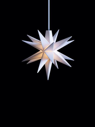LED-Leuchtstern Baby-Stern Ø 8 cm   weiß