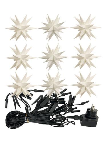 LED-Lichterkette Adventssterne