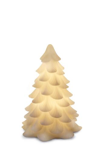 LED-Weihnachtsbaum Carla H 16 cm | weiß