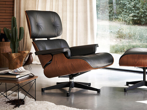 Lounge Chair XL und Ottoman