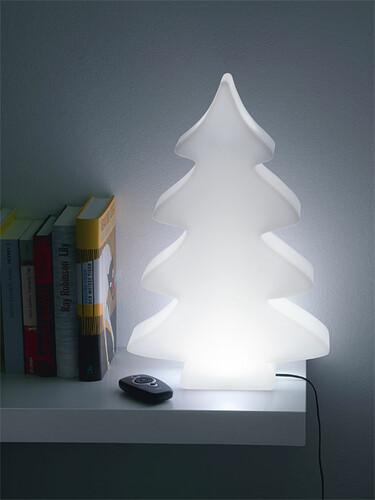 Leuchte Lumenio LED Mini (H 82 x B 54 x T 14 cm) | weiß