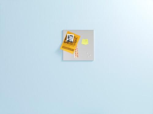 Magnetwand 46,5 x 46,5 cm | Edelstahl