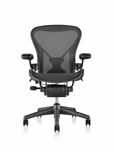Bürodrehstuhl Aeron - Graphit Größe A (bis Körpergröße 1,62 m) | Graphit