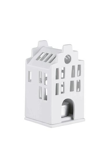 Mini-Lichthaus Stadthaus | weiß