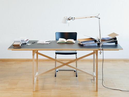 Tisch Egon 90 x 160 cm | Platte anthrazit