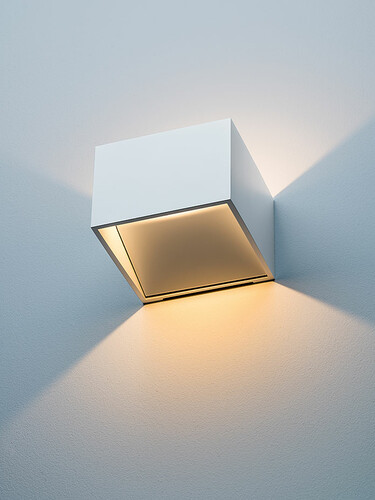 LED-Wandleuchte New Kube