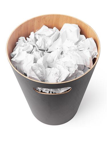 Papierkorb Woodrow