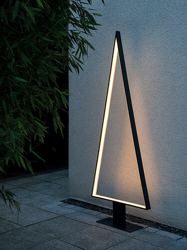 LED-Stehleuchte Pine Outdoor