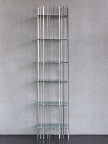 Regal Metrica Metrica C, B 45 cm | Stahl, titanium brillant
