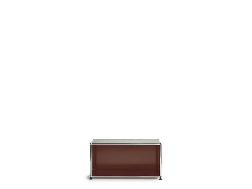 USM Regal 1-fach hoch | Breite 78 cm, offen | braun