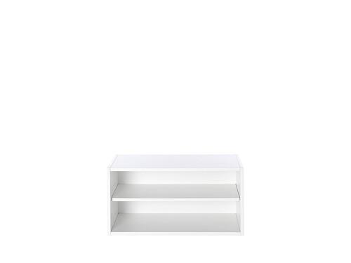 Regalsystem M1 Regalelement, H 40 cm | premiumweiß