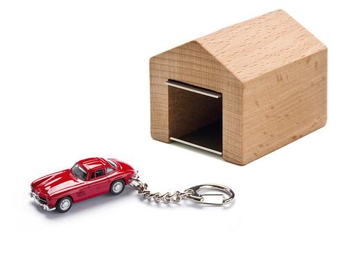 Schlüsselanhänger MB 300 SL mit Garage