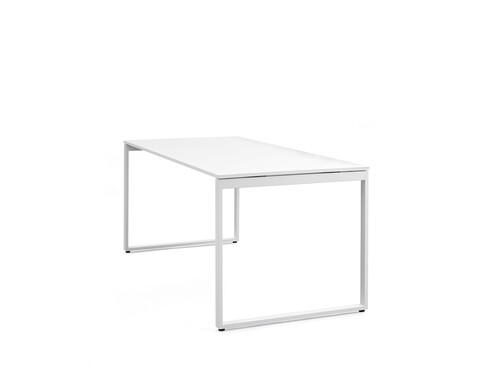 Schreibtisch Pop Bench Square Pop Square, 180 x 80 cm | weiß