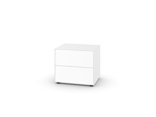 Schubkasten-Box Nex Pur B 60 cm, Schubkasten-Box mit 2 Schüben   weiß