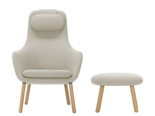 Sessel und Hocker HAL Lounge Chair und Ottoman