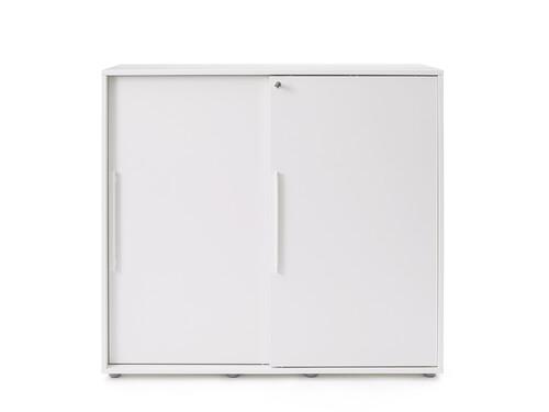 Sideboard mit Schiebetüren Armadio Schiebetürenschrank | weiß