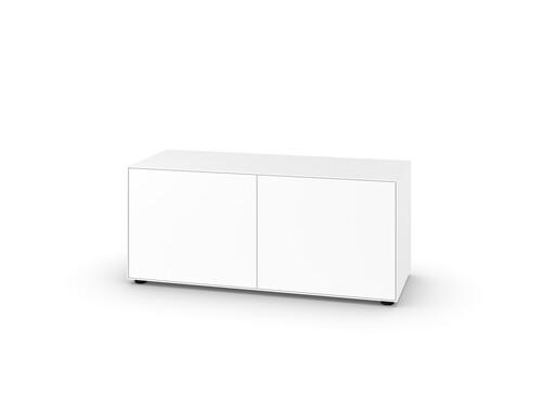 Sideboard Nex Pur H 52,5 cm, B 120 cm, 2 Türen | weiß