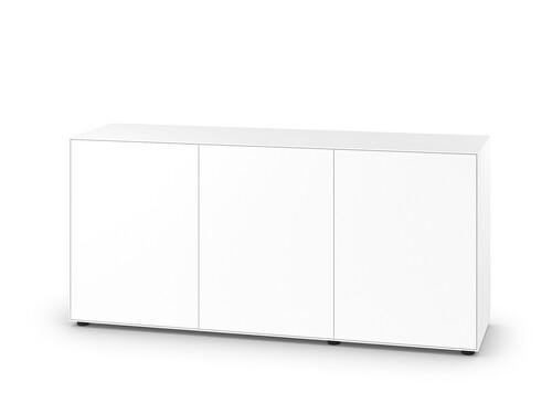 Sideboard Nex Pur H 77,5 cm, B 160 cm, 3 Türen   weiß