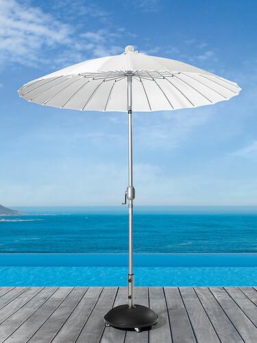 Sonnenschirm Simi Ø 210 cm / H 247 cm | weiß