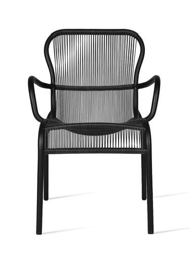 Sitzmöbel Loop Armlehnstuhl | schwarz