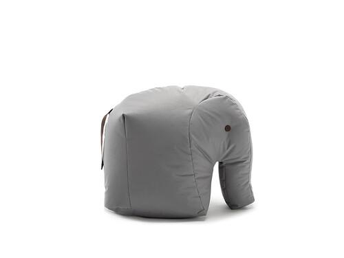 Sitzsack Happy Zoo Carl Elefant | grau