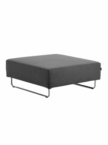Sofa Elemente Ohio Hocker | anthrazit