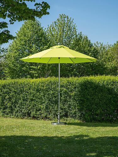 Sonnenschirm Milano Ø 250 cm | apfelgrün