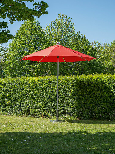 Sonnenschirm Milano Ø 250 cm | rot