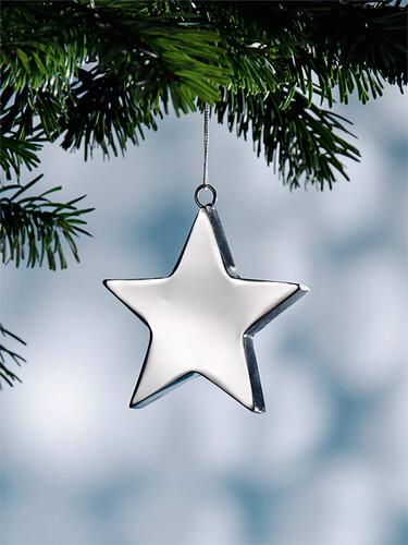Weihnachtsanhänger Stern   Ø 15 cm