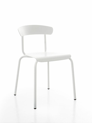 Stuhl Alu Mito Stuhl | weiß