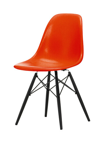 Stuhl Eames Fiberglass Side Chair DSW