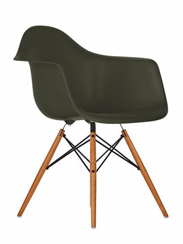 Stuhl Eames Plastic Armchair DAW 1 Stück | basalt