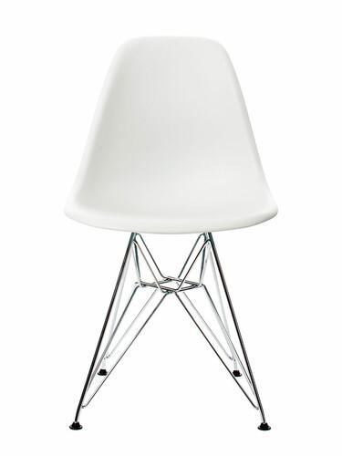 Stuhl Eames Plastic Side Chair DSR 1 Stück | weiß