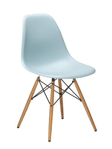 Stuhl Eames Plastic Side Chair DSW 1 Stück | eisgrau