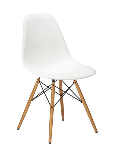 Stuhl Eames Plastic Side Chair DSW 1 Stück | weiß