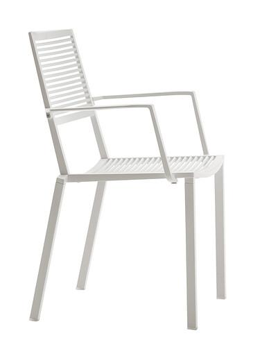 Stuhl Easy Armlehnstuhl | weiß