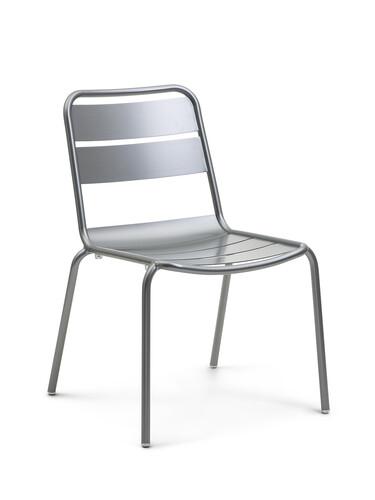 Stuhl Malaga Stuhl | stahlgrau