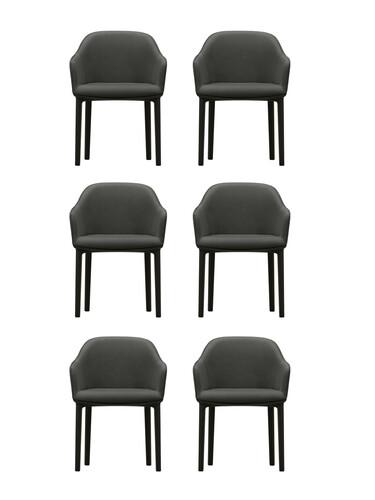 Stuhl Softshell Chair Aktion 5 + 1   dunkelgrau